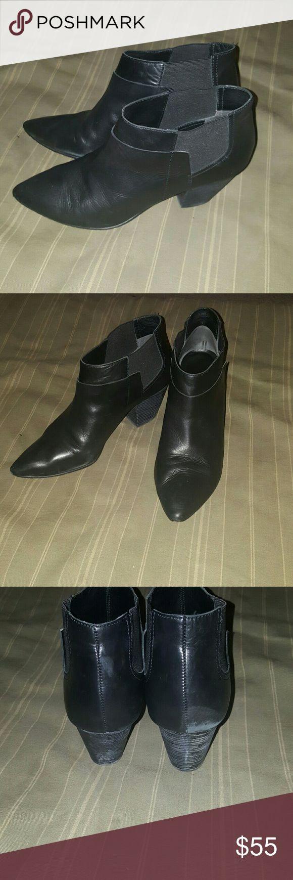 belle sigerson morrison booties belle sigerson morrison booties.  Gently worn, pictured Belle by Sigerson Morrison Shoes Ankle Boots & Booties