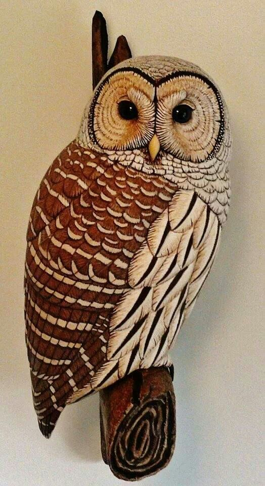 Best owl wood carving ideas images on pinterest