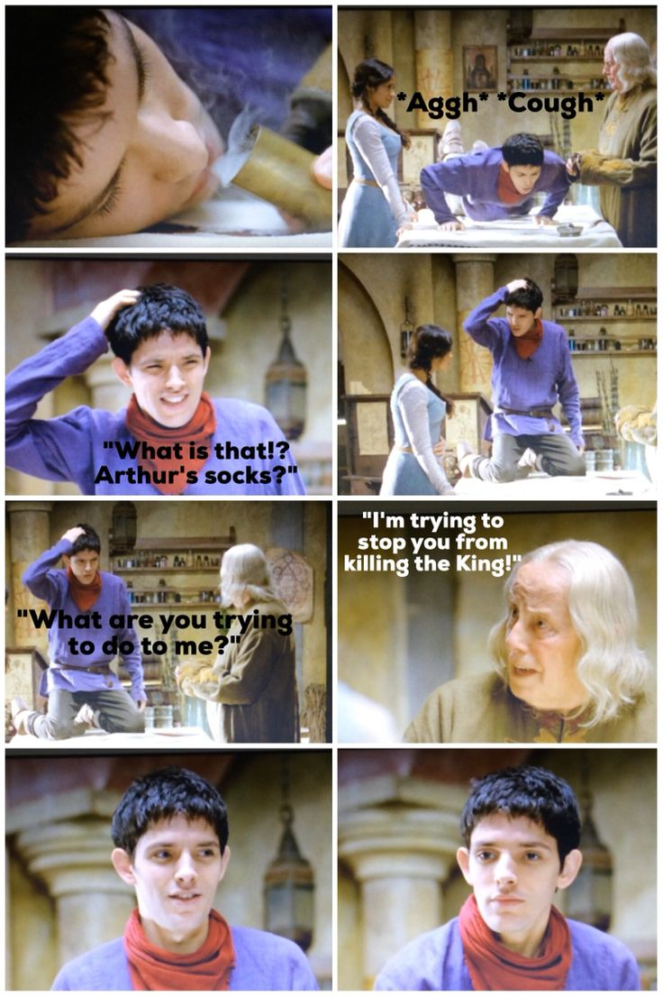 #merlin 'A Servant of Two Masters'