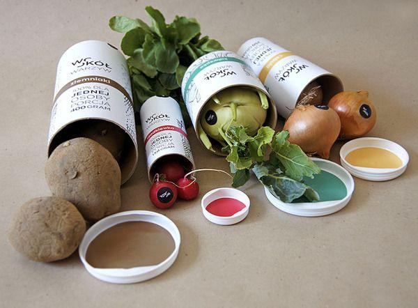 WOKÓŁ WARZYW / (a)round vegetables by Martyna Wędzicka, via Behance