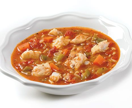 There's nothing better than a warm meal, on a chilly day. With this #recipe for hearty #haddock #gumbo your evening will go from cool to cozy with each filling spoonful.