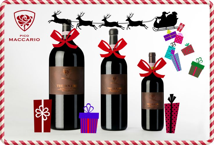#wine #TreRoveri #barbera #astisuperiore #christmasgift #picomaccario #winelovers