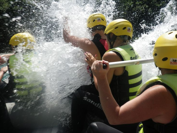 Take part in Wet & Wild Rafting as part of all of our multi-activity packages.