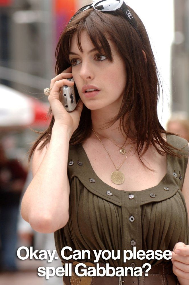 Amazing quotes from the Devil Wears Prada - click for the best.