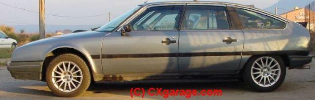 """Jantes ALU TRX en 14"""" pouces / CX Turbo 2 essence 1988 à Passer en 15"""" ?"""