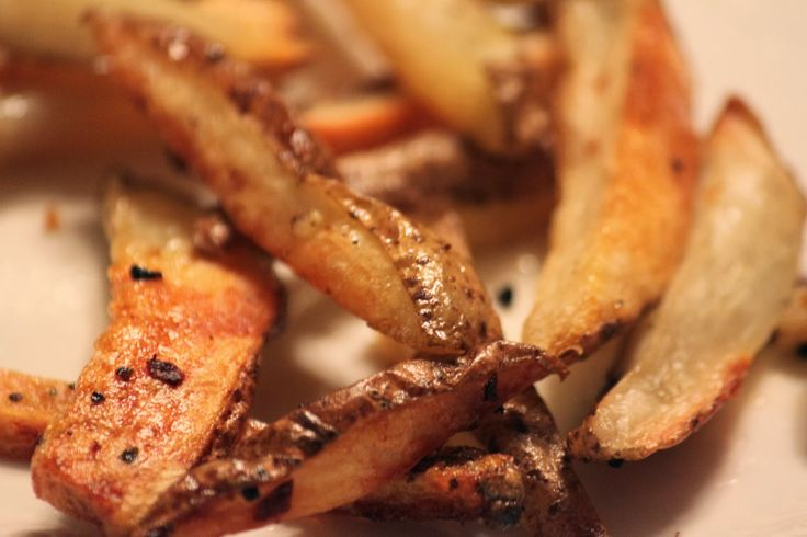 Crispy baked french fries | Bread, Brownies, and Beyond | Pinterest