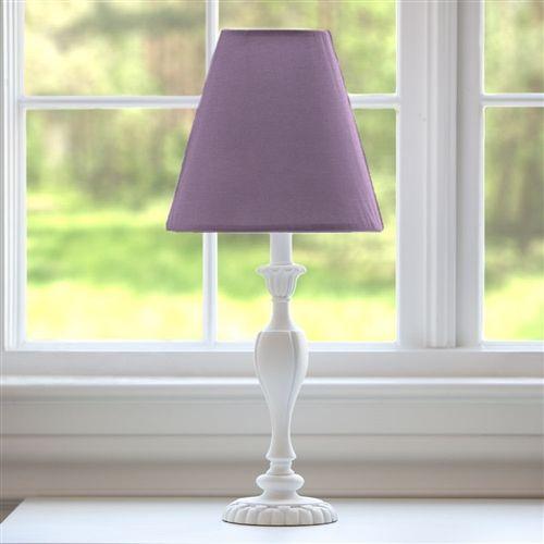 Solid Aubergine Purple Lamp Shade