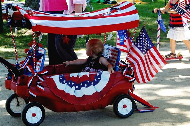 4th of July wagon for the parade this year!