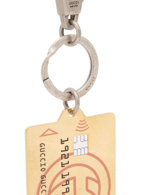 6acd5cc1b2486 Gucci Key ring with GG credit card