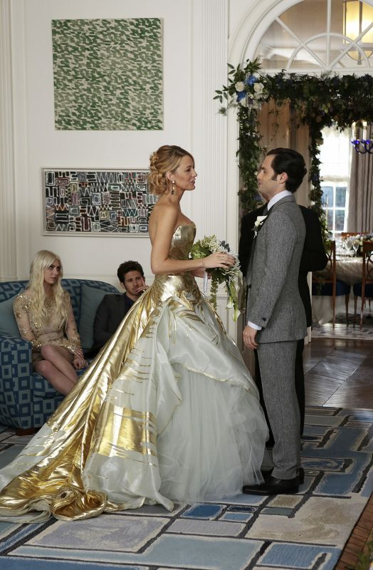 """New York, I Love You XOXO"", episode 10, season 6. FINAL EPISODE.  Serena and Dan's Wedding"