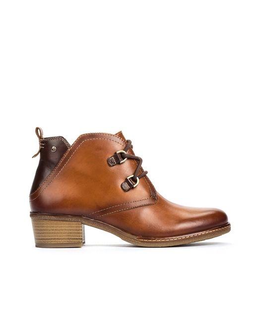 93c78e5f Botines de mujer Pikolinos en piel vacuna color marrón en 2019   zapato  amenizado   Pinterest   Botas