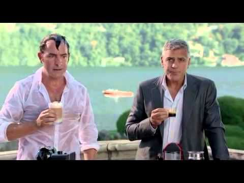 How far would you go for a Nespresso? Featuring George Clooney and Jean Dujardin - YouTube