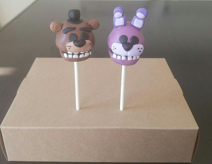 Five Nights At Freddy S Cake Pops