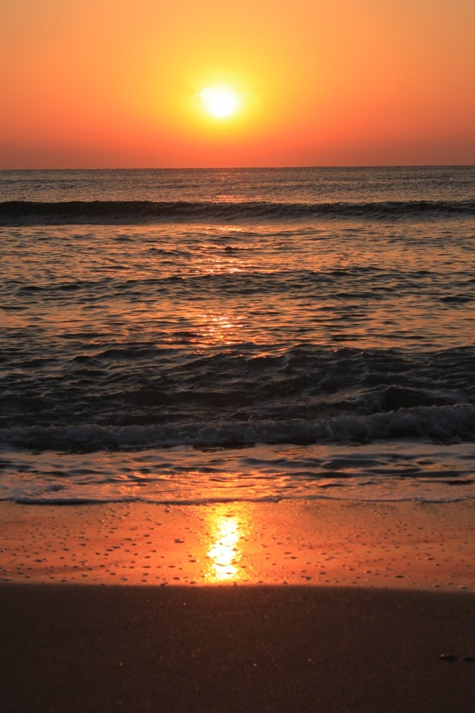 Sunrise Over Sea, Beach Waves - Public Domain Photos, Free Images for Commercial Use