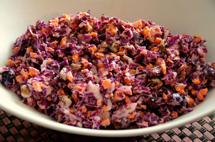 Little Bit of Everything: Red Cabbage Slaw