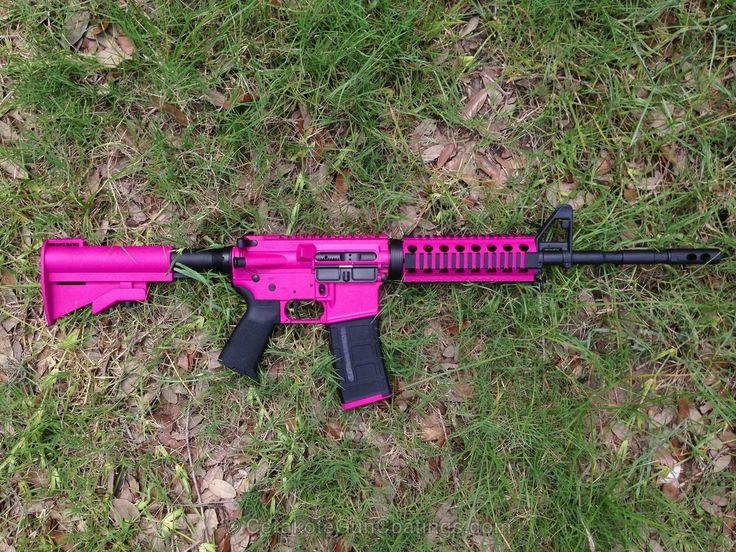 Cerakote Coatings: H-224 Sig Pink with H-146 Graphite Black