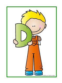 La letra D