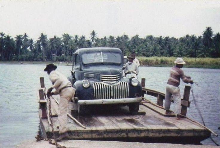 El Ancon q conectaba a Piñones con el Pueblo de Loíza.  Ahora hay un puente.  Puerto Rico