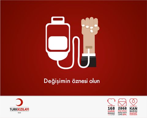 Türk Kızılayı, 1 Mayıs kutlama postu.