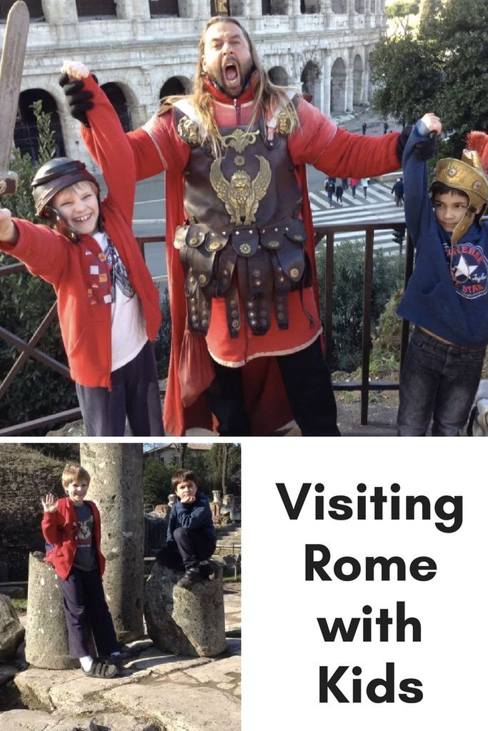Visiting Rome with Kids www.minitravellers.co.uk Top tips on Visiting Rome with Kids:  Stay in an apartment rather than a hotel (or outside the City Centre at Camping Fabulous with Eurocamp). It is half the price and gives them far more scope to run around and be noisy.