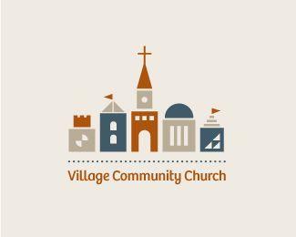 45 Great Church Logos