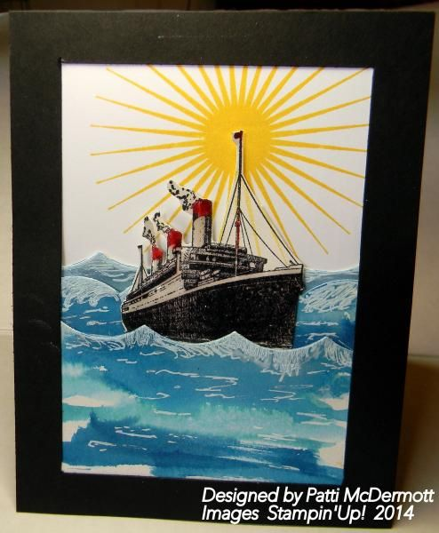 Traveler on the Horizon by Patti McDermott - Cards and Paper Crafts at Splitcoaststampers