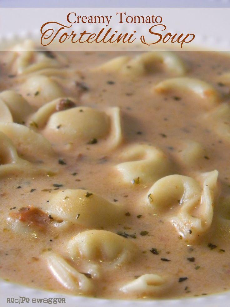 Recipe Swagger: Creamy Tomato Tortellini Soup