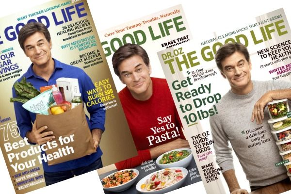 Right now, you can grab aone-year subscription toDr. Oz The Good Life Magazinefor $7.95 per year!