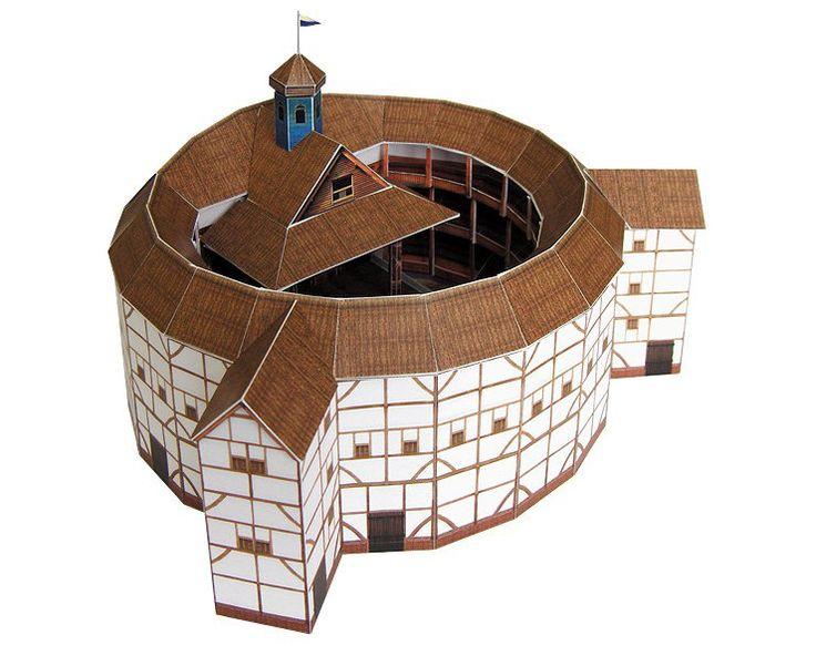 Globe Theatre Model Kit