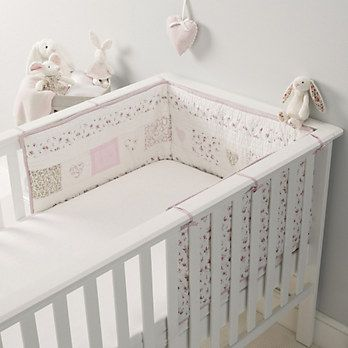 The White Company Milly Cot Bumper. £65.