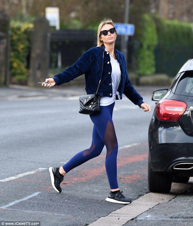 Alex Gerrard flaunts her toned post-baby body in Liverpool  She welcomed her youngest child Lio George with husband Steven Gerrard in April last year.  And Alex Gerrard displayed her sensational figure in a pair of vibrant blue leggings and knotted T-shirt on Thursday as she headed towards the gym in Liverpool.  The 35-year-old model recently took to Instagram with pride as she shared her second eldest daughters modelling snaps which saw Lexie 11 in an array of trendy clothing pieces for…