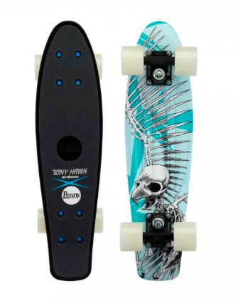 Penny Skateboard - Pro Skateboard Edition - Tony Hawk Full Skull 22""