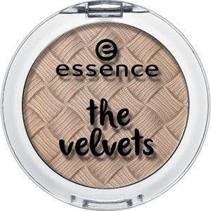 the velvets eyeshadow 03 smooth caramel - essence cosmetics