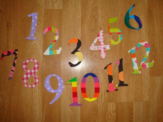 Applique Numbers