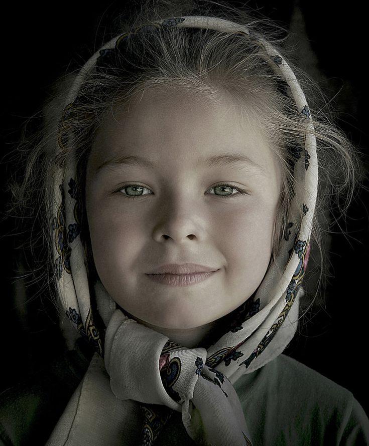 Kerekes István képe egy máramarosi kislányt ábrázol. Eddig 200 díjat nyert vele.