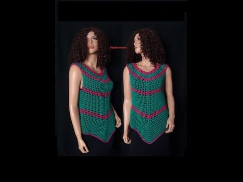 How to Crochet a Maxi Dress Pattern #6│by ThePatterfamily - YouTube