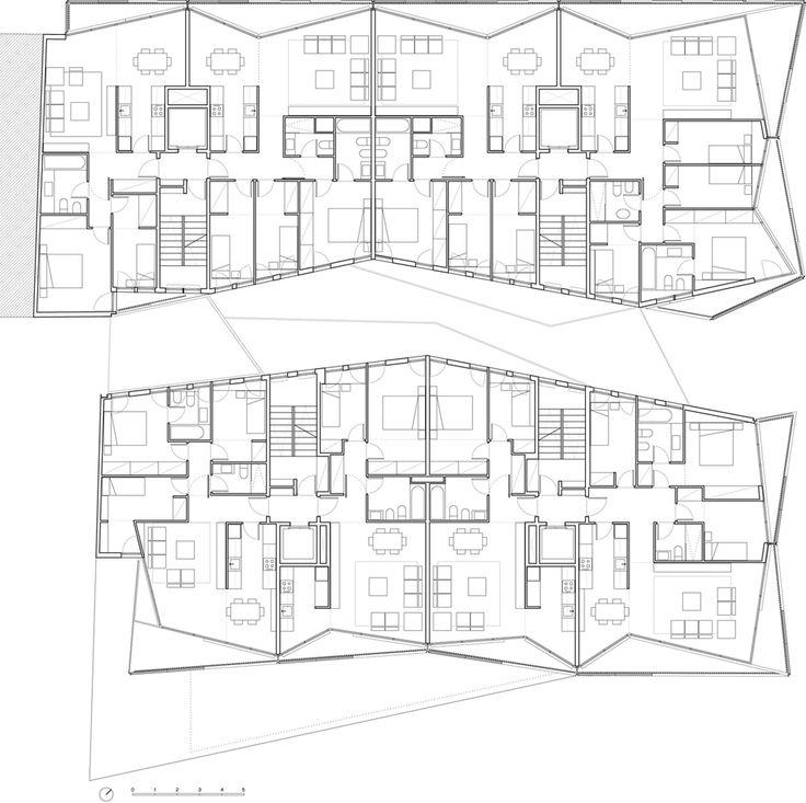13 best social housing plan images – Social Housing Plans