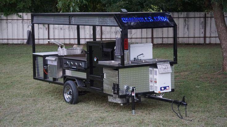 Eli fully loaded food concession trailer omg grills