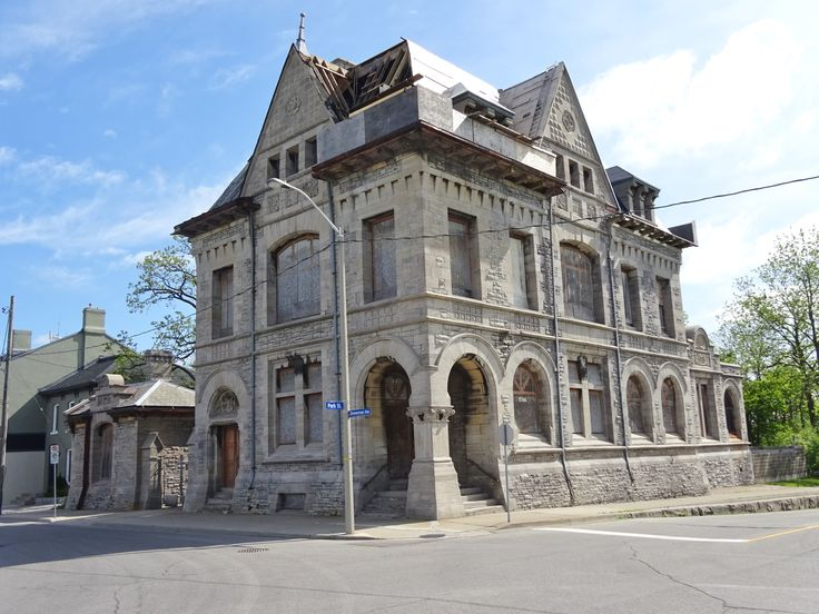 Old Post Office Building, built in 1885, located at 4177 Park St., Niagara Falls, ON