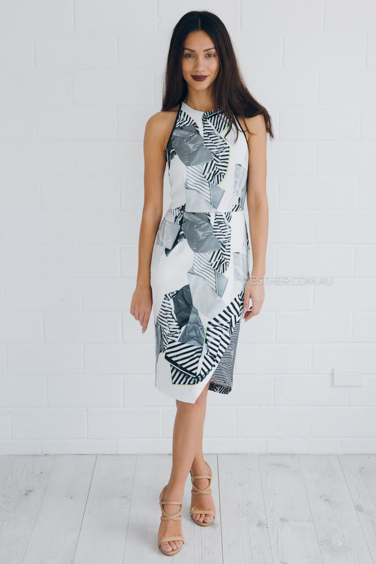 cooper st walk the edge racer dress - print | Esther clothing Australia and America USA, boutique online ladies fashion store, shop global womens wear worldwide, designer womenswear, prom dresses, skirts, jackets, leggings, tights, leather shoes, accessories, free shipping world wide. – Esther Boutique