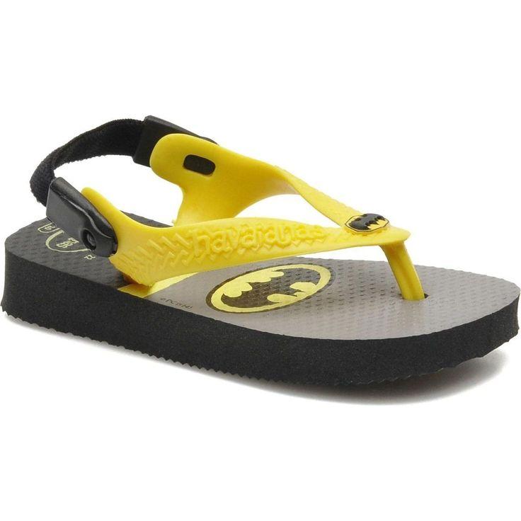 Havaianas Slippers Baby Heroes Batman