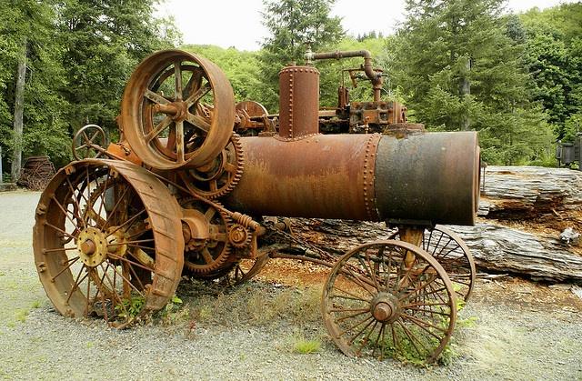 Rusty steamer