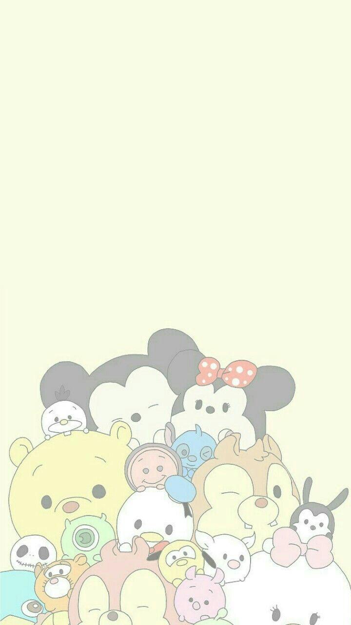 Tsum Tsum Wallpaper Rainbow Disney