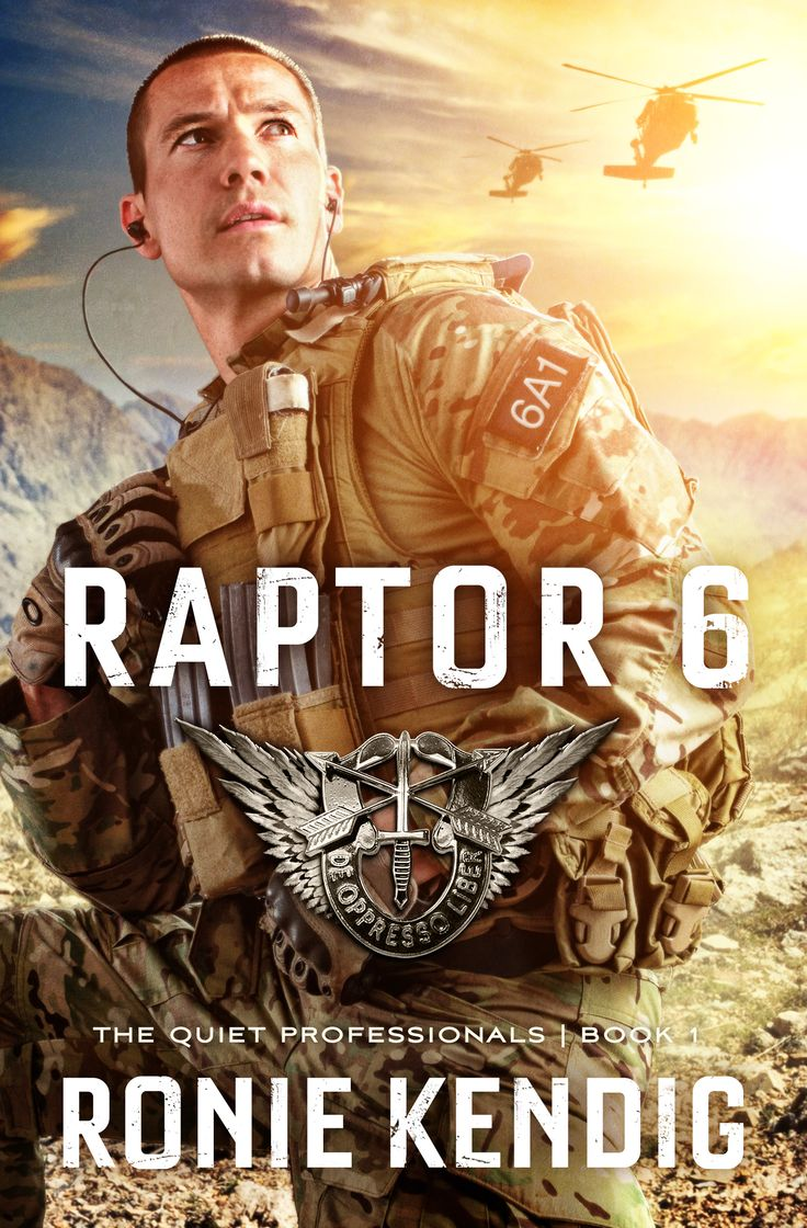 Check out Ronie Kendig's latest book, Raptor 6... book 1 in her new series, The Quiet Professionals!