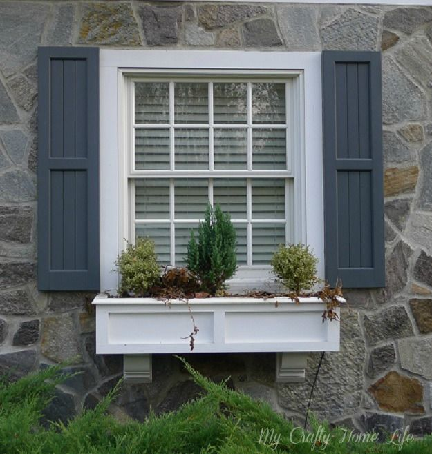 Calling it Home: Updating My Window Boxes....Part 2