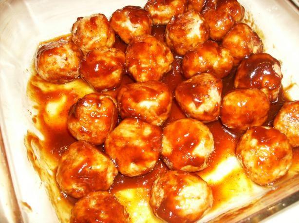 BBQ Chicken Meatballs | Recipe