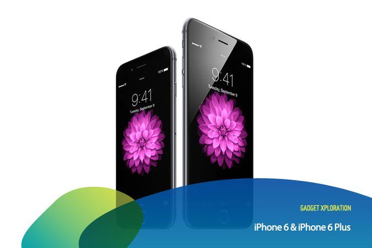 iPhone generasi terbaru kini telah hadir! iPhone 6 & 6 Plus memiliki dimensi layar yang lebih lebar 4,7 inci & 5,5 inci + kualitas layar Retina HD. Selain itu, fitur kameranya juga hadir dengan sensor focus pixel dan time-lapse video mode yang bisa bantu kamu mengambil hasil foto terbaik. Untuk urusan internetan via wi-fi, iPhone 6 3x lebih cepat dari iPhone 5s.  Repin kalau kamu pengen iPhone 6 atau iPhone 6 Plus! #GadgetXploration