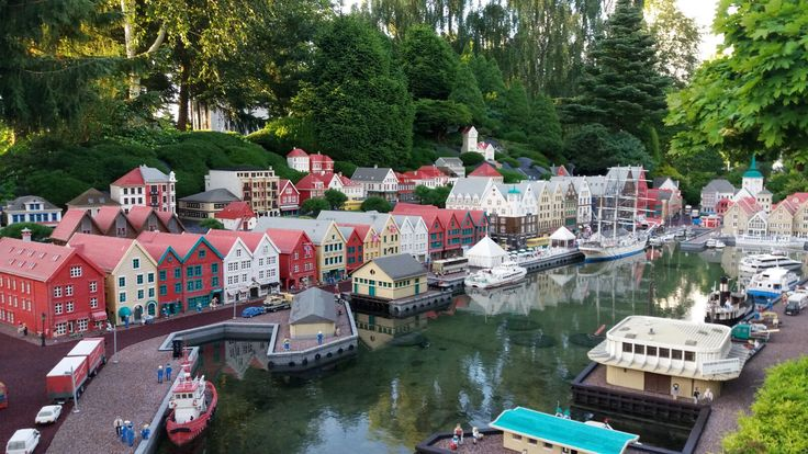 Legoland ja hienot rakennelmat