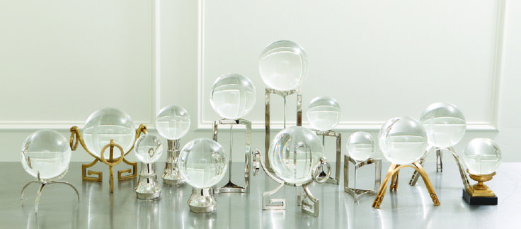 Clearlight Orb, Crystal Sphere, Tiered Ball Stand, and more https://www.globalviews.com