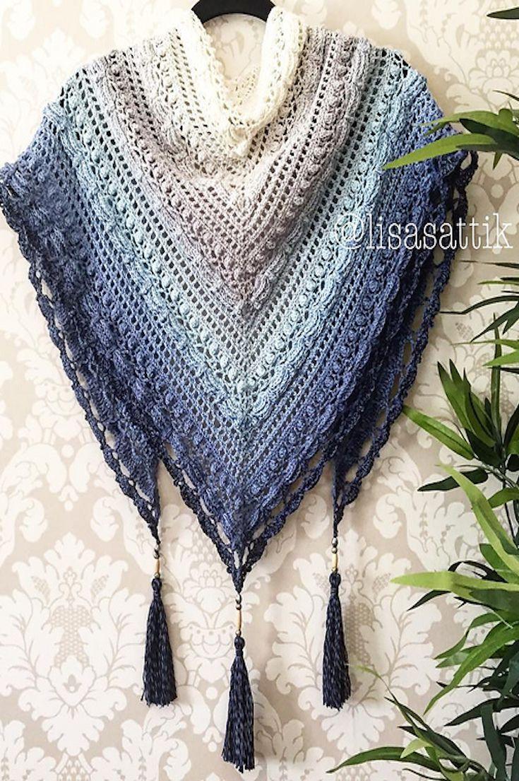 Best 25+ Crochet poncho ideas on Pinterest | Crochet shawl ...